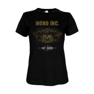 Ladies Festivalshirt MONO INC. 10th Anniversary Edition S