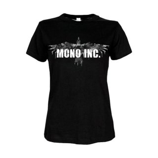 Ladies Shirt MONO INC. Raven Vintage M