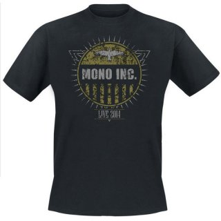 T-Shirt MONO INC. Festivals 2014 L