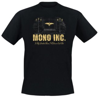 T-Shirt MONO INC. In My Darkest Hours Alive & Acoustic Tour 2015