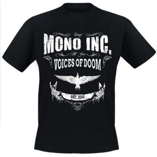 T-Shirt MONO INC. Voices Of Doom XXL
