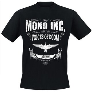 T-Shirt MONO INC. Voices Of Doom 3XL