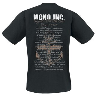 T-Shirt MONO INC. Together Till The End Tour 2017