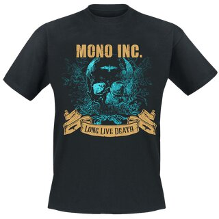 T-Shirt MONO INC. Long Live Death S