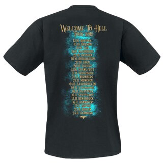 T-Shirt MONO INC. Welcome To Hell Tour M