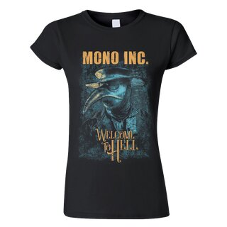 Ladies Shirt MONO INC. Welcome To Hell Tour