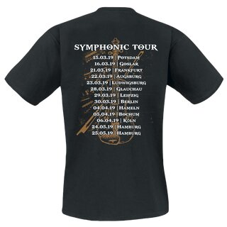 T-Shirt MONO INC. Symphonic Tour