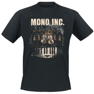 T-Shirt MONO INC. Symphonic Tour S