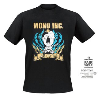 T-Shirt MONO INC. Long Live Dad