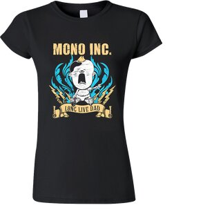 Girl-Shirt MONO INC. Long Live Dad S