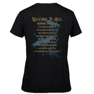 Girl-Shirt MONO INC. Welcome To Hell Festival Tour 2019