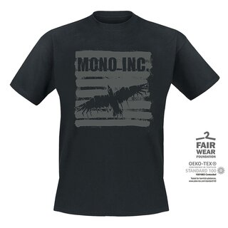 T-Shirt MONO INC. Raven Retro