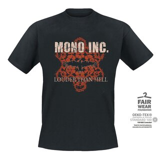 T-Shirt MONO INC. Louder Than Hell