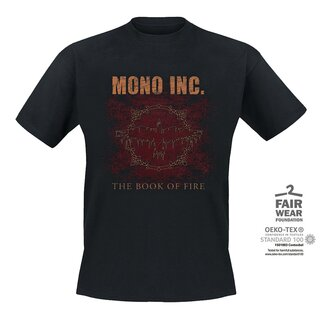 T-Shirt MONO INC. The Book Of Fire