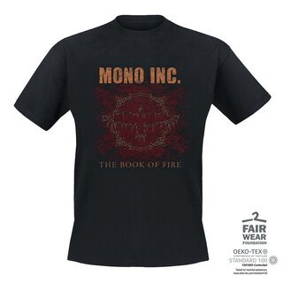 T-Shirt MONO INC. The Book Of Fire 5XL