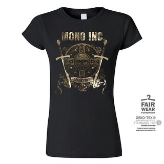Girl-Shirt MONO INC. Warriors