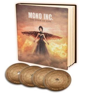 MONO INC. - The Book of Fire (3CD+DVD Earbook)