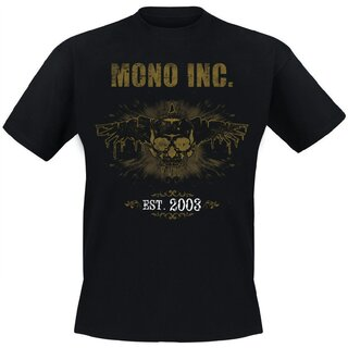 T-Shirt MONO INC. 10th Anniversary Edition Festivalshirt