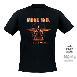T-Shirt MONO INC. The Book of Fire Tour
