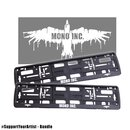 #SupportYourArtist Bundle - 2 license plate holder MONO...