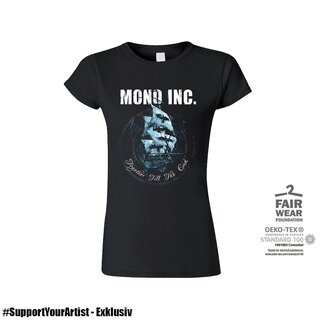 #SupportYourArtist Exklusiv - Girl-Shirt MONO INC. Together Till The End