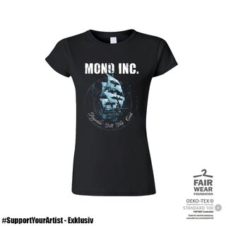 #SupportYourArtist Exklusiv - Girl-Shirt MONO INC. Together Till The End XXL