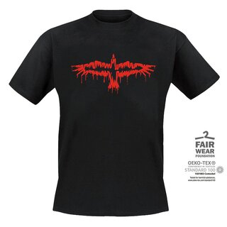 T-Shirt MONO INC. Raven Red