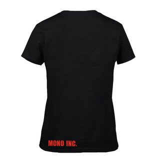 Girl-Shirt MONO INC. Raven Red