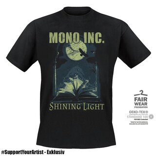#SupportYourArtist Exklusiv - T-Shirt MONO INC. Shining Light