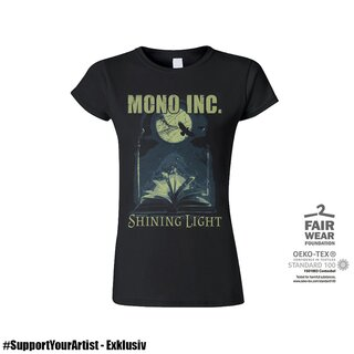 #SupportYourArtist Exklusiv - Girl-Shirt MONO INC. Shining Light